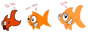 Happy Fish Evolution by Blixemi