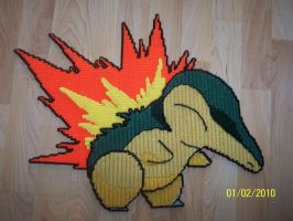 CYNDAQUIL by DeadDog2007