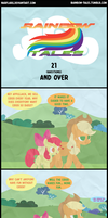 Rainbow Tales: 21 (Questions) and Over by Narflarg