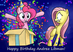 Andrea Libman Birthday by BrownWolfFM