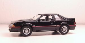 GreenLight 1987 Ford Mustang GT by Firehawk73-2012