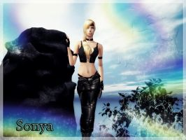 Sonya new look by deexie