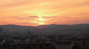 Sunset in Budapest by bflynn22