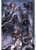 Red Sonja Color by SmilinJack