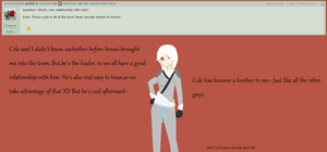 Question #15:Relationship with Cole by Ask-Samoi-Wind-Ninja