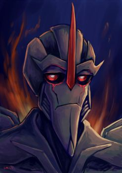 Starscream Portret by Logna