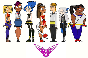 The King of Total Drama Fighters Group 2 by ThunderFists1988