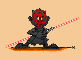I Geek Weekly: Darth Maul by JoshuaFitzpatrick