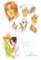 Promarkers - sketches by Megan-Uosiu