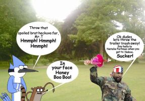 Mr.T Vs Honey Boo Boo with guest stars by Jeffyraccoon