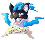 Orca badge by WolfusImagius