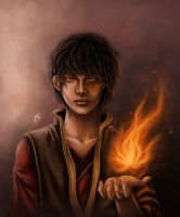 Atla Portrait : Zuko by xRaika-chanx