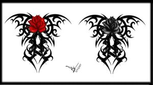 Flower Lower Back Rose Tattoo Designs Picture 5