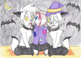 Halloween Costumes 1 by Tomo-Dono