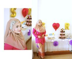 Sita and Rilman Engagement 2 by icachanDesign
