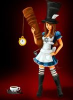 Caitlyn in Wonderland by ivey