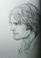 Sam Winchester by Thyria