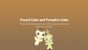 Pound and Pumpkin Minimal Wallpaper by postcrusade