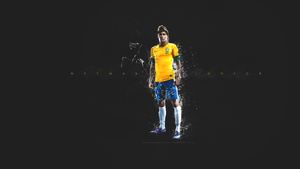 Neymar Junior Wallpaper by SimonT95