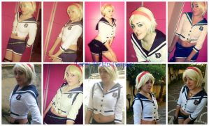 Collage Sherry Cosplay The Mercenaries Outfit by TerryBirkin