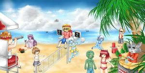 League of Legends - Beach Time by human-failure