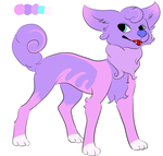 (OPEN - 20 Points) Adoptable dog by derpyness12345
