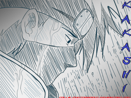 kakashi rain by we-are-the-remnants