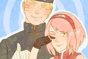 NaruSaku - Goodbye by Kirabook