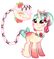 Canon-style Marzipan Charm by Diigii-Doll