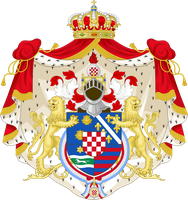 CoA of the Kingdom of Croatia by TiltschMaster