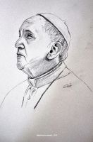 Pope Francis by raymundpecho