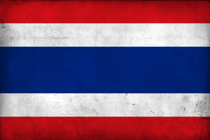 Grunge Flag of Thailand by pnkrckr
