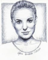 Natalie Portman Pen 3 by AngelinaBenedetti