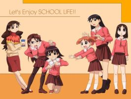 Let's Enjoy School Life by Avegaille