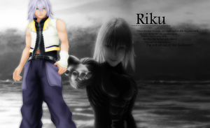 Riku - wallpaper by Ekumimi