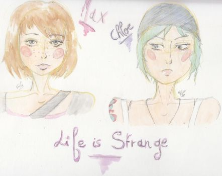 Max and Chloe from Life is Strange by KetsuekiHime