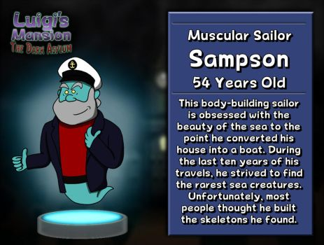 Sampson: The Muscular Sailor by GEO-GIMP