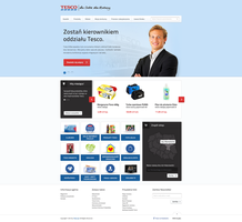 Redesign Tesco.pl by TenTypMatias
