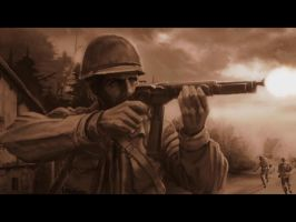 WW2 US Army Ranger by Arctic-RevoIution