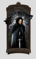 Jon Snow by 6worldangel9