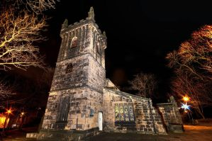 All Saints by Night by taffmeister