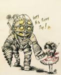 Big Daddy and Little Sister by izzymarty