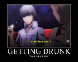 Yu Narukami Demotivational Poster by cottoncandyFRIZZ