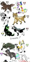 Cats and Dogs 8D :3 LEFT: by Ink--Beast