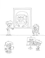 Works of Spongebob by dannyfangirl