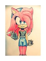 :.WIP.Completed. Arya Blue Electric TH New Style! by AryTheHedgehog29