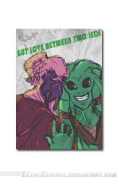 GUY LOVE between two jedi LOL by ElTheGeneral