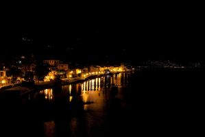 Nighttime in Cannobio by Stratege