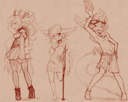 Humanized Babs  by Dragonpunk15