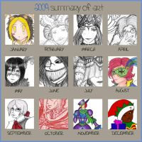 Art Meme 2009 by BloodRed-Orchid